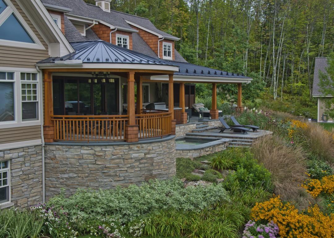 Terraced Paradise - Paysage Lambert
