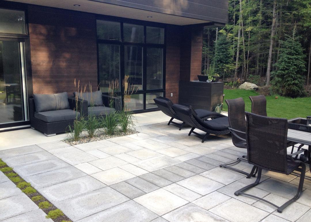 patio-exterieur-moderne - Paysage Lambert