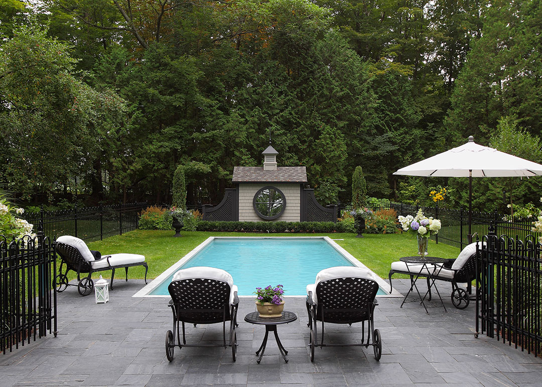R alisation piscine 1 paysage lambert for Realisation piscine
