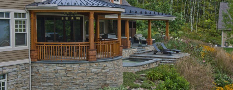 patio ou terrasse