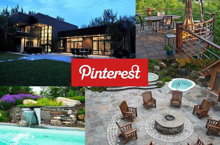 Comment bâtir un tableau d\'idées d\'aménagement extérieur avec Pinterest?